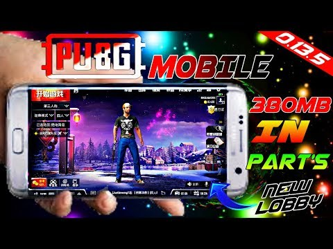 PUBG Mobile 0.13.5 Chinese Version Highly Compressed | Apk Data | New Lobby, Gun Skorpion, And More