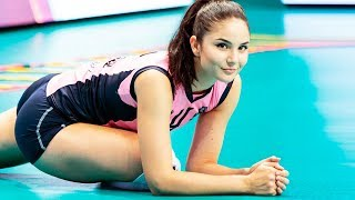 Klara Peric Beautiful Girl - Amazing Volleyball SETTER | Top SETS