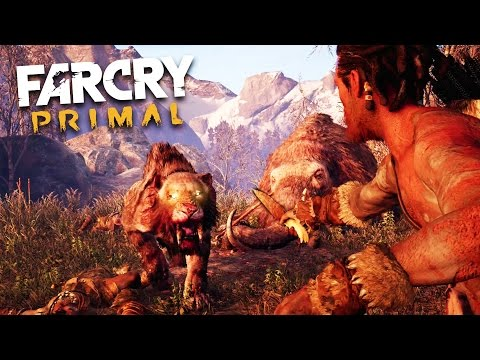 Far Cry Primal - SABER TOOTH TIGER ATTACK!!! (Far Cry Primal Gameplay)