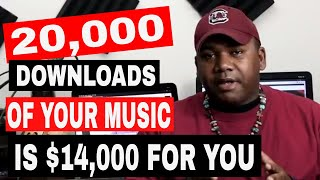 ✅ HOW TO MAKE $14,000 WITH YOUR MUSIC WITH ONLY $20
