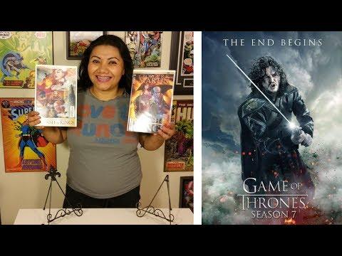 Ep. 25 - Game Of Thrones Season 7 Ep. 1 & Comic Books - Clash Of Kings #1