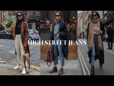 MOST WORN HIGH STREET JEANS | LOOKBOOK