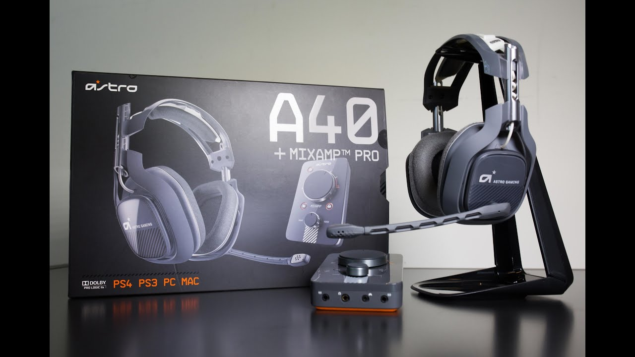 astro a40 gaming headset 2015 edition unboxing test. Black Bedroom Furniture Sets. Home Design Ideas