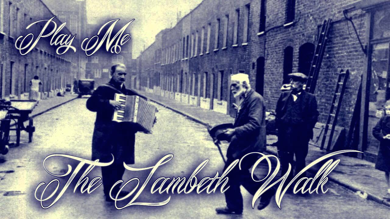 Image result for the lambeth walk song lyrics