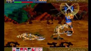Dungeons & Dragons Collection - Shadow Over Mystara - Sega Saturn Gameplay