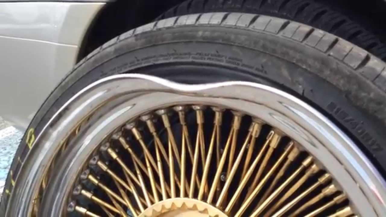 Rim Repair Cost >> Bent rim repair part 1 - YouTube