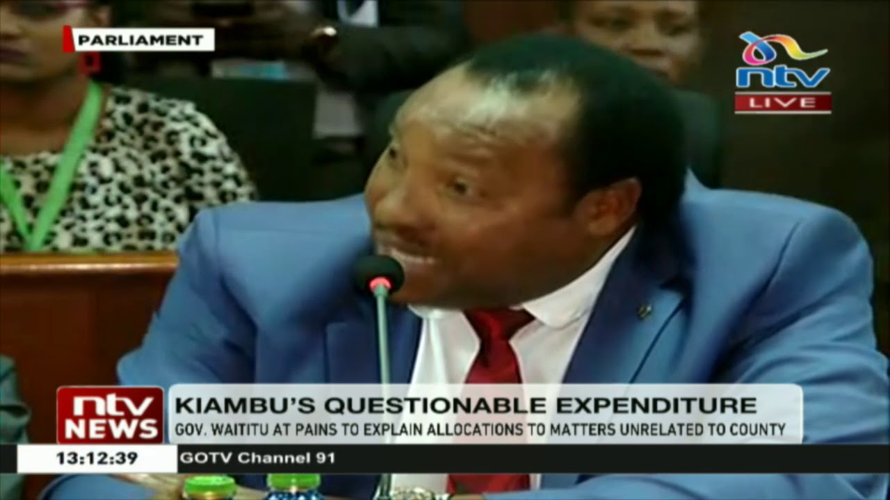 Waititu tongue tied on allocations on matters unrelated to county