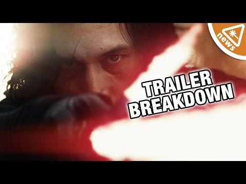 Every Star Wars: The Last Jedi Trailer Detail We Noticed! (Nerdist News w/ Jessica Chobot)