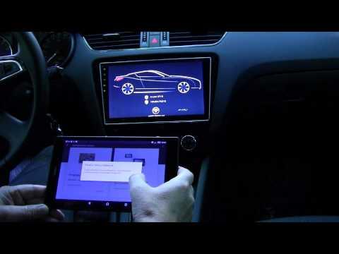 Распаковка автомобильного WiFi видеоинтерфейса AVS11W