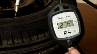PCL Accura Digital Tyre Inflator