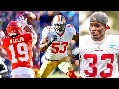 LIVE! 49ers Fans Weekly: Jeremy Maclin Available, Bowman In Question & Rashard Robinson Maturing