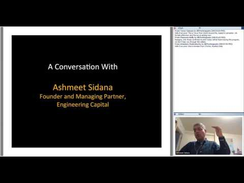 287th 1M/1M Roundtable Dec. 17, 2015: With Engineering Capital Founder Ashmeet Sidana