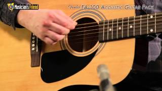 Fender FA-100 Acoustic Guitar Pack