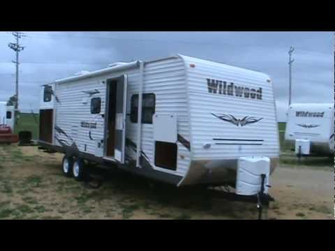 Mpg Travel Trailer >> WILDWOOD 30KQBSS TRAVEL TRAILER BUNKHOUSE.MPG - YouTube