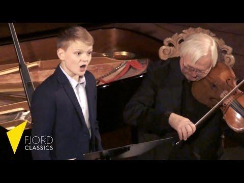 So shall the lute and harp awake (Handel) | boy soprano Aksel Rykkvin (13y) | Fjord Classics