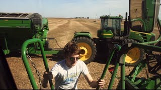 My time in Kansas with Frederick Harvesting - John deere 2010