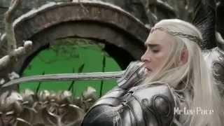 Hobbit. Thranduil wojownik (B5A Extended Edition/Behind the Scenes)