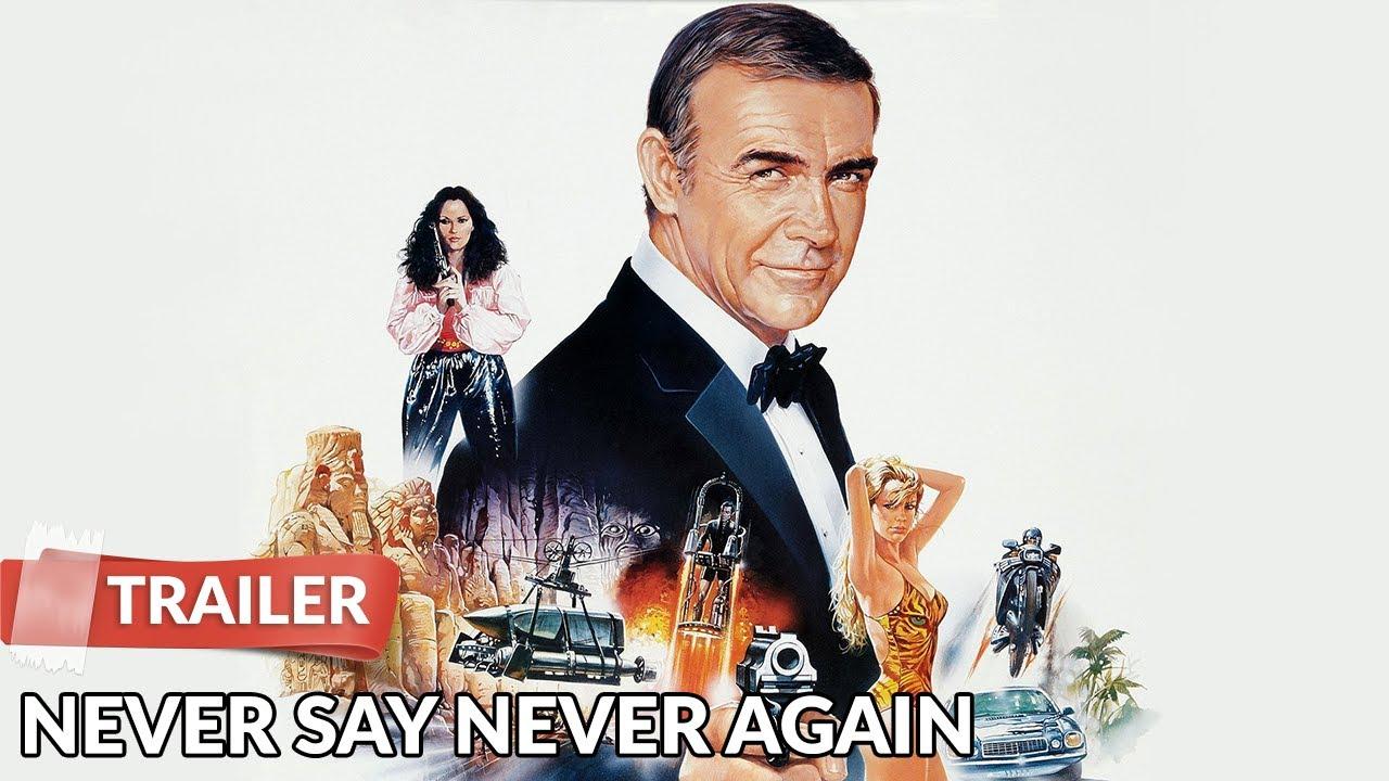 007 Never Say Never Again 1983 Trailer   James Bond   Sean Connery ...