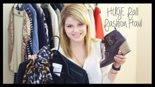 HUGE Fall Fashion Haul: Brandy Mellville, H&M, Betsey Johnson, and more! Thumbnail