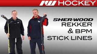 Sherwood Rekker EK365 & BPM 150 Stick Line On-Ice Insight