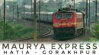 MGS P4 || 15027 HATIA - GORAKHPUR MAURYA EXPRESS【HD】