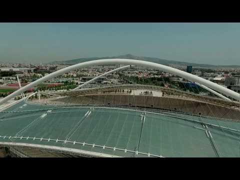 Calatrava Project - Olympic Stadium - Athens Greece