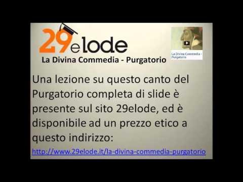 Il secondo canto del Purgatorio di Dante, vv 1-35
