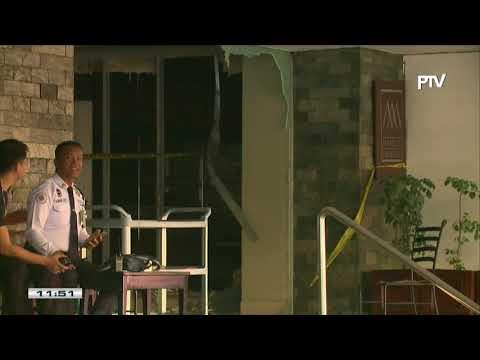 NEWS BREAK: Sunog sa Manila Pavilion Hotel, under control na