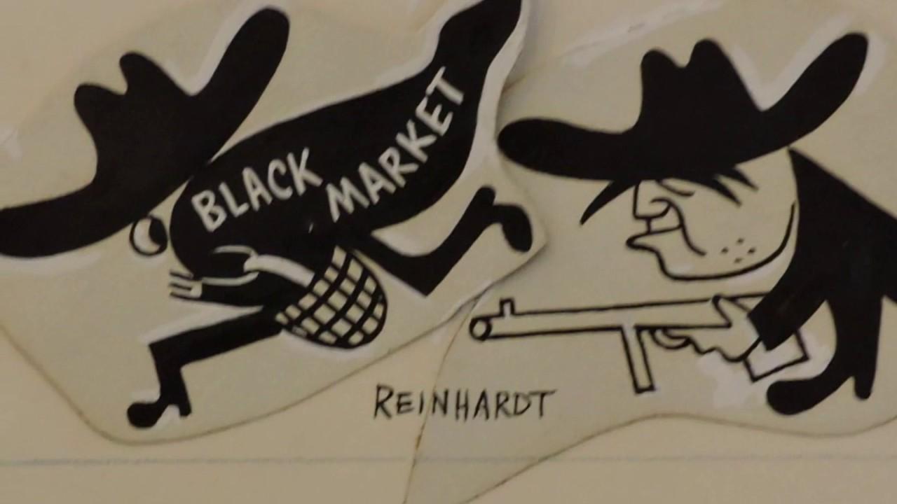 Ad Reinhardt e la satira: vignette, fumetti e fotografie in mostra