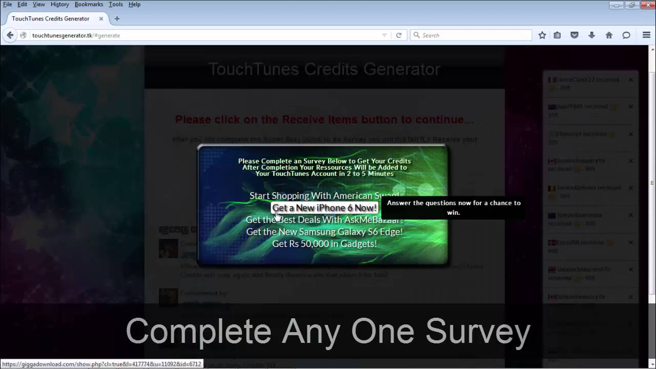 TouchTunes Hack - TouchTunes FREE Credits *BRAND NEW*