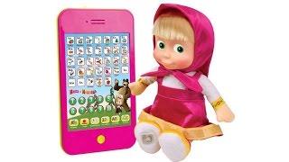 М'яка іграшка Маша з планшетом м/ф ''Маша і Ведмідь''