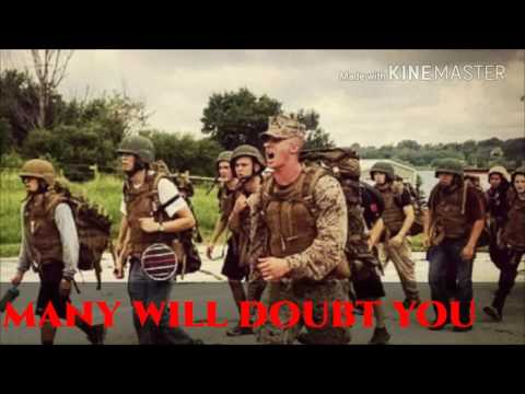 "United States Marine Corps USMC Motivational Video ""Hold Strong""-Rob Bailey and the Hustle Standard"