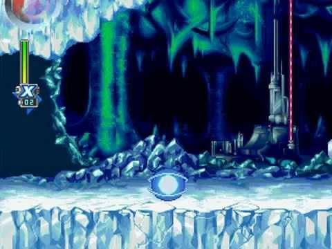 Mega Man X6 - Blizzard Wolfang