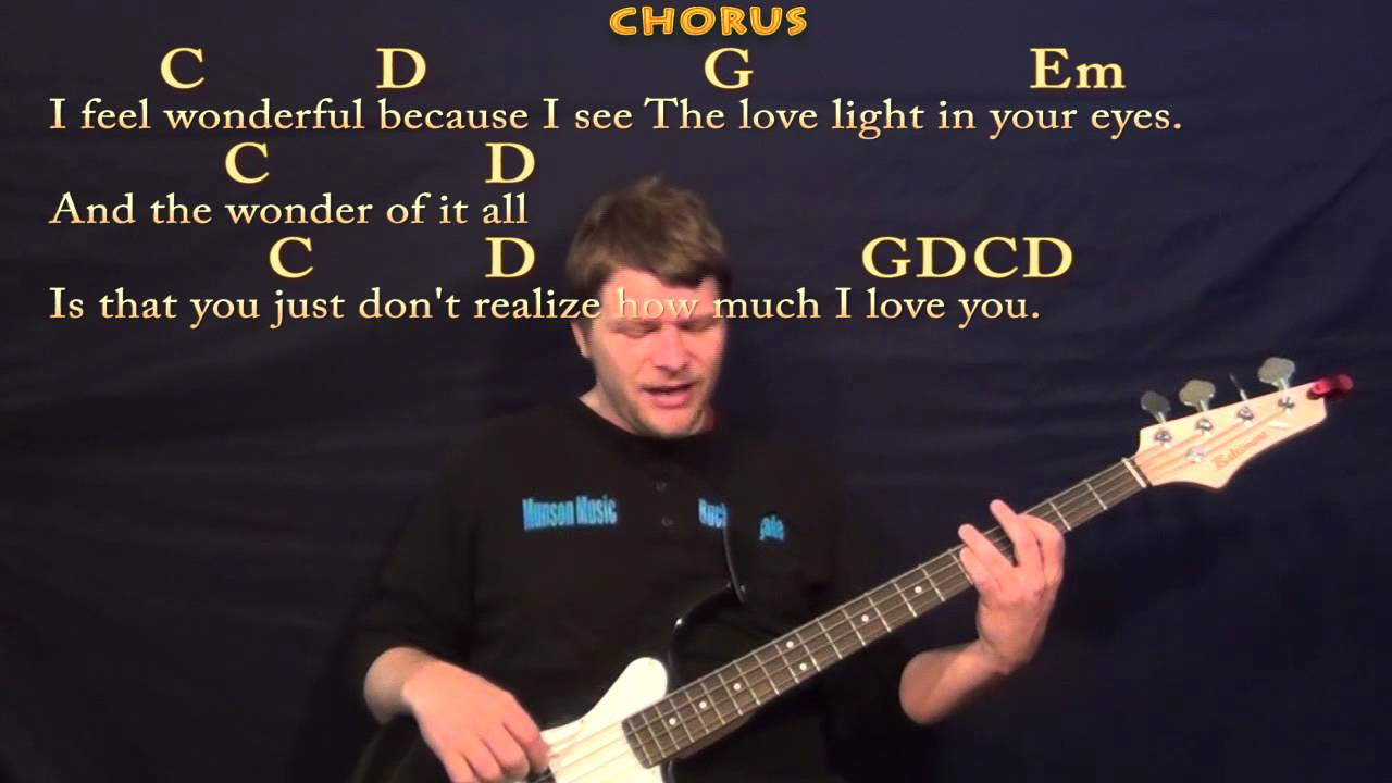 Wonderful Tonight Eric Clapton Easy Bass Guitar Cover Lesson With