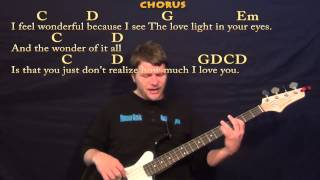Wonderful Tonight (Eric Clapton) Easy Bass Guitar Cover Lesson with Lyrics/Chords