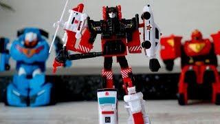 Игрушки роботы - трансформеры и тоботы. Трансформер 5 в 1