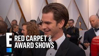 "Andrew Garfield Talks Being A ""First Timer"" At 2017 Oscars 