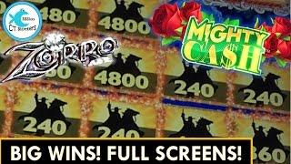 *NEW* BIG WINS! Zorro Slot Machine (Part 2 of 2)