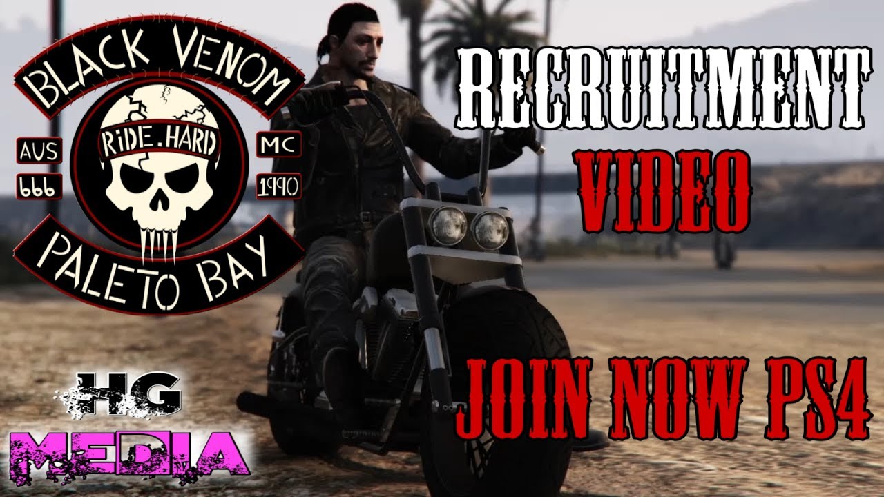 Gta Online Black Venom Mc Promo Video Pt 2 Biker Gang