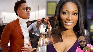 Erica Dixon From LHHATL Friend EXPOSES HER She Is Having Twins With Power Star Rotimi