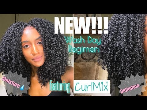 NEW WASH DAY REGIMEN - for Low Porosity Hair: Definition and Moisture! | @TiffanyLaibhen | TiffanyTV