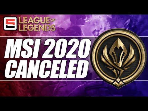 Mid Season Invitational 2020 Canceled Worlds Still Set For China League Of Legends Espn Esports Youtube