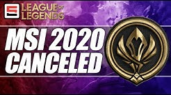 Mid-Season Invitational 2020 Canceled, Worlds still set for China | League of Legends | ESPN ESPORTS