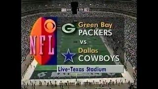 1993-10-03 Green Bay Packers vs Dallas Cowboys