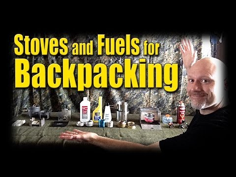 Affordable Backpacking Stoves and Fuel Options -- Kdawg Indoors Episode 2