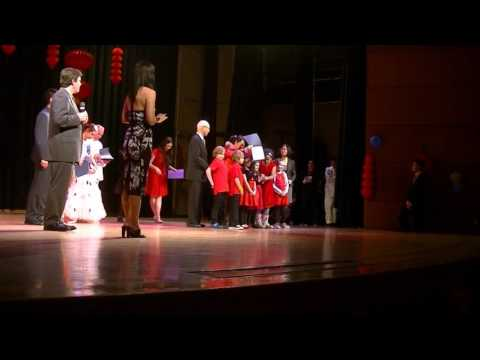 Awards for performers at CSU Chinese New Year
