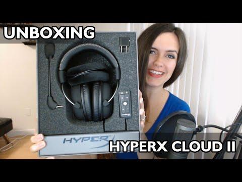 HyperX Cloud II - Unboxing en español