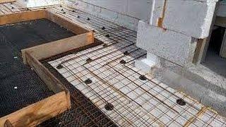 видео Укладка и уплотнение бетонной смеси