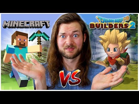 Was I WRONG About Minecraft & Dragon Quest Builders 2?