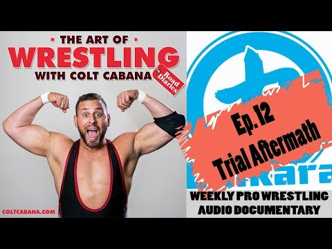 Ep 12 (Trial Aftermath) - Art of Wrestling Podcast w/ Colt Cabana